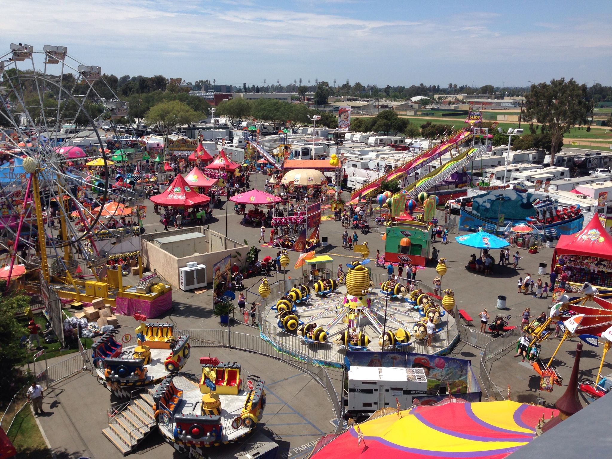 A Day of Festivity and Fun at Orange County's Annual Fair