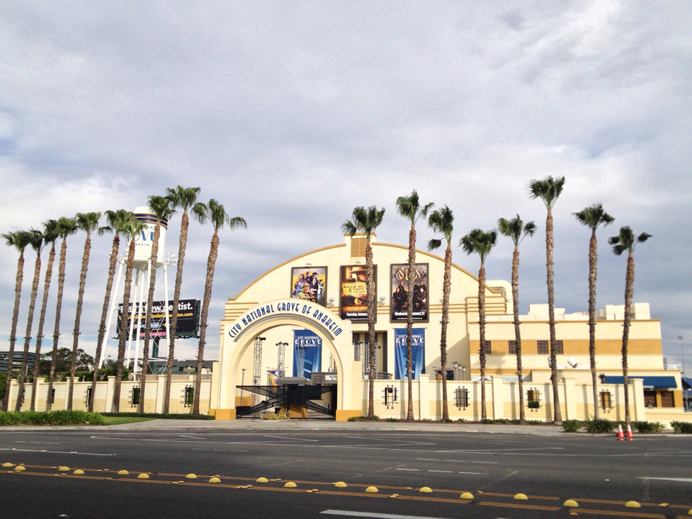 The Grooviest Place to Be: The City National Grove of Anaheim
