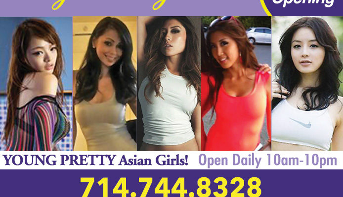 Asian girls and kansas city and body rubs