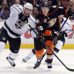 Anaheim Ducks Vs. Los Angeles Kings