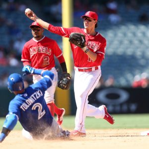 Los Angeles Angels of Anaheim vs. Toronto Blue Jays in Anaheim