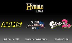 2GG Hyrule Saga: A Smash 4 & Zelda Event